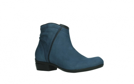 wolky ankle boots 00952 winchester 13800 blue nubuckleather_3