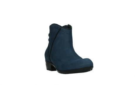 wolky ankle boots 00952 winchester 13800 blue nubuckleather_5