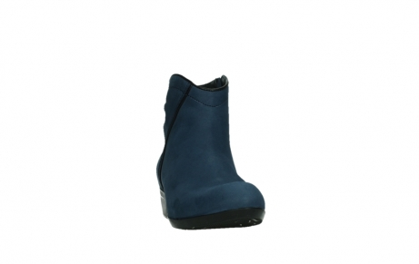 wolky ankle boots 00952 winchester 13800 blue nubuckleather_6