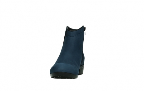 wolky ankle boots 00952 winchester 13800 blue nubuckleather_8