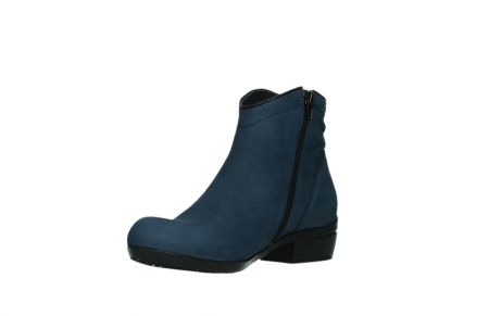 wolky ankle boots 00952 winchester 13800 blue nubuckleather_10