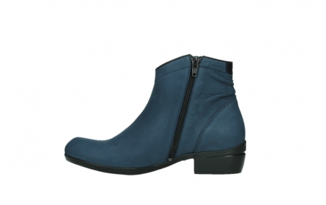 wolky ankle boots 00952 winchester 13800 blue nubuckleather_13
