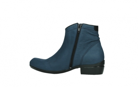 wolky ankle boots 00952 winchester 13800 blue nubuckleather_14