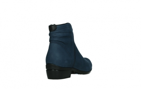 wolky ankle boots 00952 winchester 13800 blue nubuckleather_21