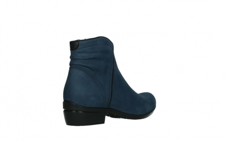 wolky ankle boots 00952 winchester 13800 blue nubuckleather_22