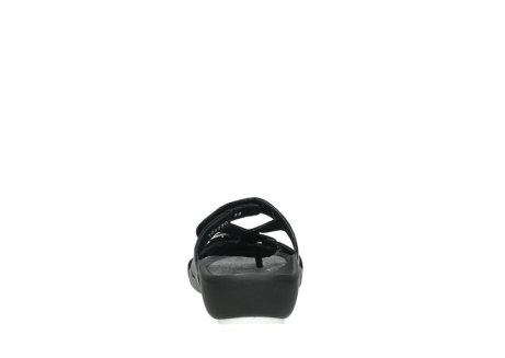 wolky slippers 01002 oleary 30000 black leather_7