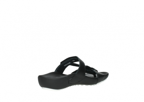 wolky slippers 01002 oleary 30000 black leather_10