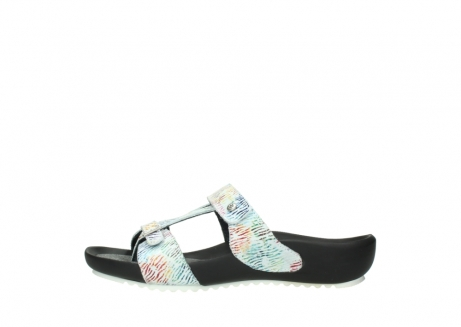 wolky slippers 01002 oleary 70980 white multi nubuck_1