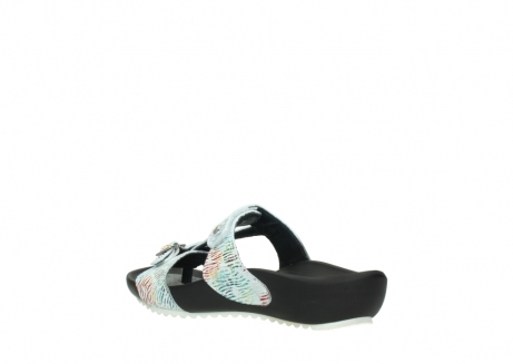 wolky slippers 01002 oleary 70980 white multi nubuck_4