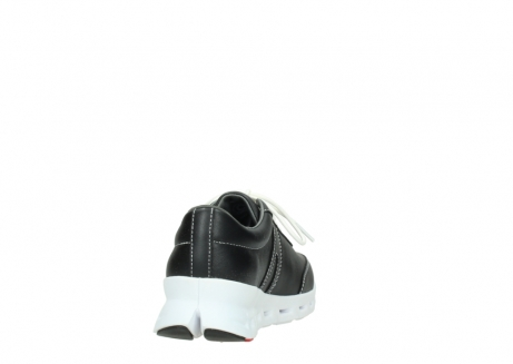 wolky lace up shoes 02050 nano 20000 black leather_8
