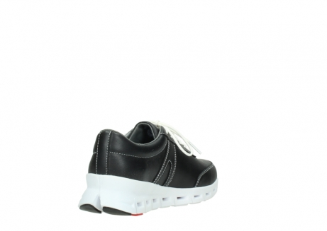 wolky lace up shoes 02050 nano 20000 black leather_9