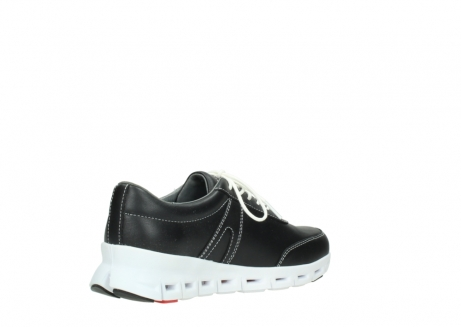 wolky lace up shoes 02050 nano 20000 black leather_10