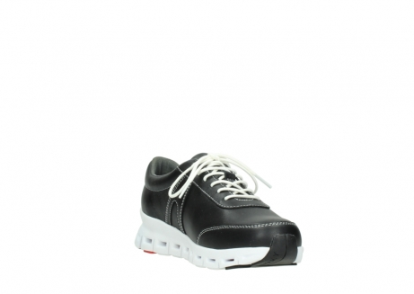 wolky lace up shoes 02050 nano 20000 black leather_17