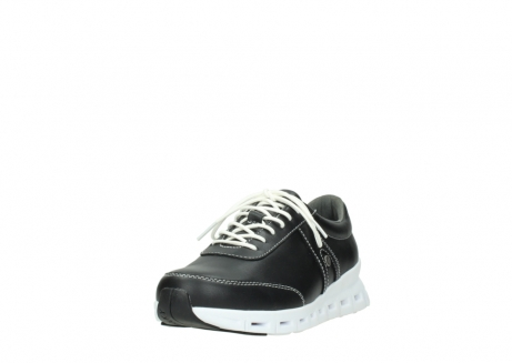 wolky lace up shoes 02050 nano 20000 black leather_21