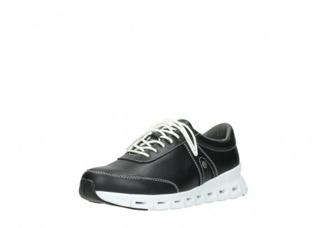wolky lace up shoes 02050 nano 20000 black leather_22
