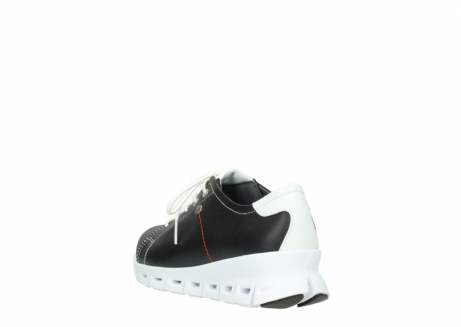 wolky sneakers 02051 mega 20000 black leather_5