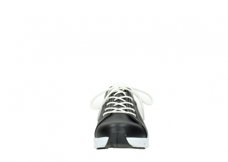wolky sneakers 02051 mega 20000 black leather_19
