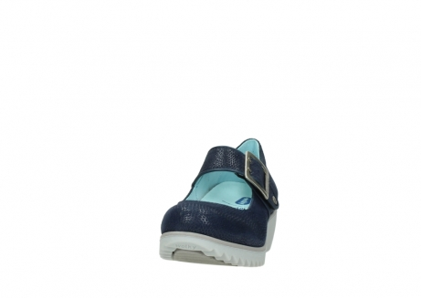 wolky mary janes 03811 silky 20800 blue leather_20
