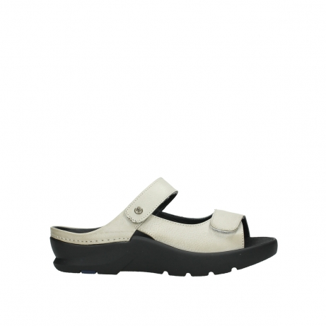 wolky slippers 03926 zaandam 35120 offwhite leather