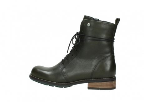 wolky mid calf boots 04438 murray cw 20730 forest green leather cold winter warm lining_2