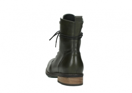 wolky mid calf boots 04438 murray cw 20730 forest green leather cold winter warm lining_6
