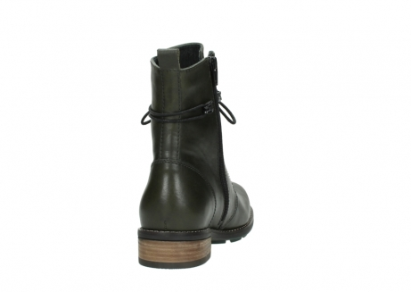 wolky mid calf boots 04438 murray cw 20730 forest green leather cold winter warm lining_8