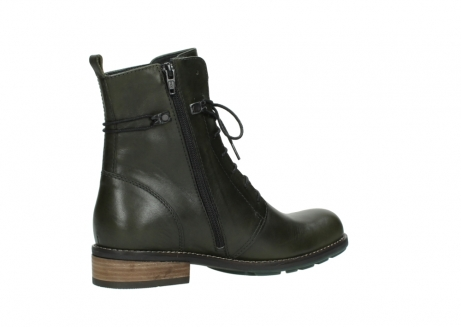 wolky mid calf boots 04438 murray cw 20730 forest green leather cold winter warm lining_11
