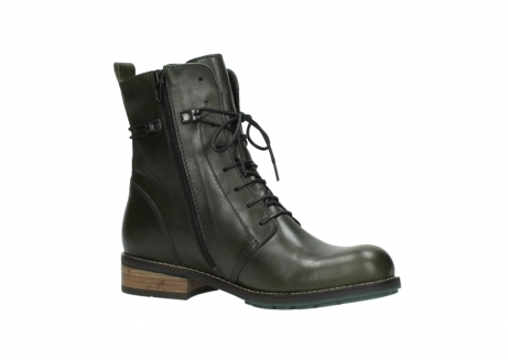 wolky mid calf boots 04438 murray cw 20730 forest green leather cold winter warm lining_15