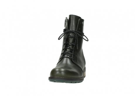 wolky mid calf boots 04438 murray cw 20730 forest green leather cold winter warm lining_20
