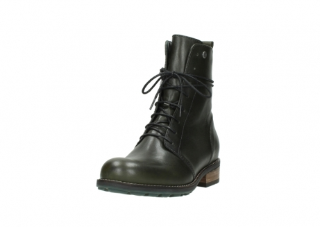 wolky mid calf boots 04438 murray cw 20730 forest green leather cold winter warm lining_21