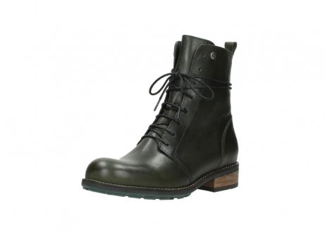 wolky mid calf boots 04438 murray cw 20730 forest green leather cold winter warm lining_22