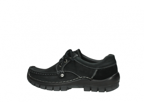 wolky lace up shoes 04734 seamy fly winter 11002 black nubuck_2