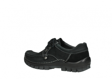 wolky lace up shoes 04734 seamy fly winter 11002 black nubuck_3