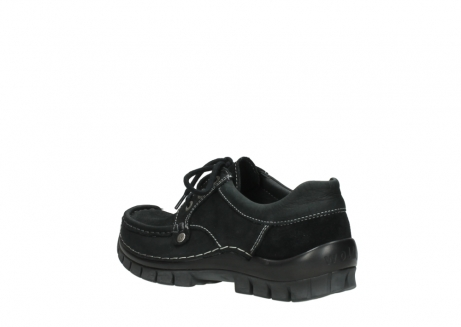 wolky lace up shoes 04734 seamy fly winter 11002 black nubuck_4