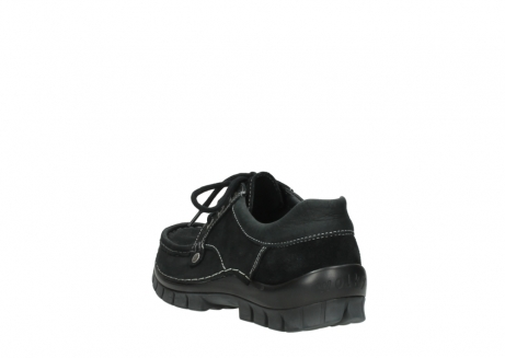wolky lace up shoes 04734 seamy fly winter 11002 black nubuck_5