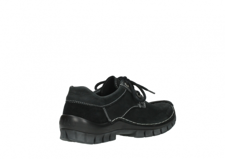 wolky lace up shoes 04734 seamy fly winter 11002 black nubuck_10