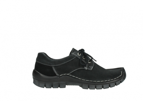 wolky lace up shoes 04734 seamy fly winter 11002 black nubuck_13
