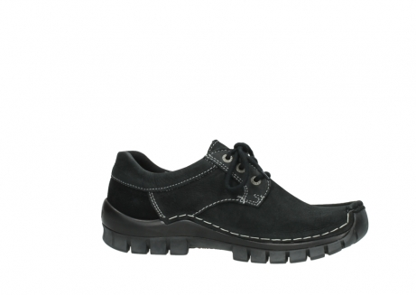 wolky lace up shoes 04734 seamy fly winter 11002 black nubuck_14