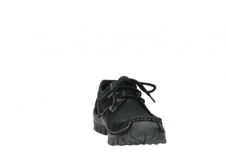 wolky lace up shoes 04734 seamy fly winter 11002 black nubuck_18