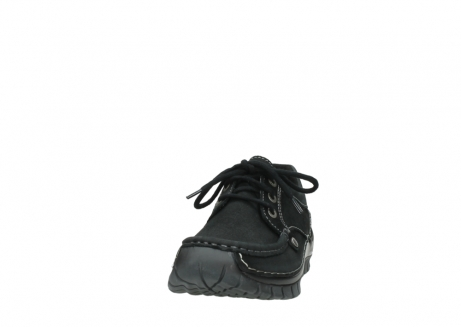 wolky lace up shoes 04734 seamy fly winter 11002 black nubuck_20