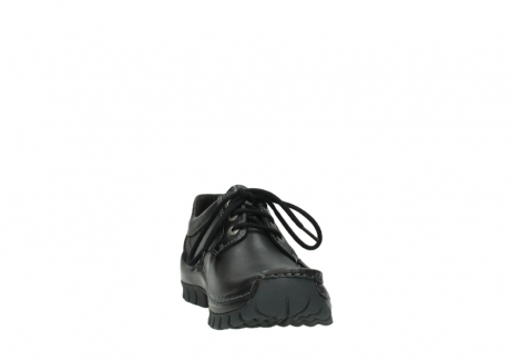 wolky lace up shoes 04734 seamy fly winter 20000 black leather_18