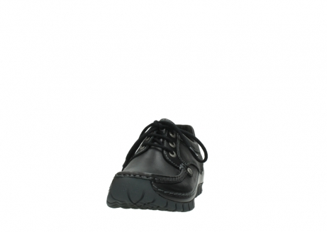 wolky lace up shoes 04734 seamy fly winter 20000 black leather_20