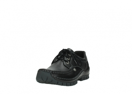 wolky lace up shoes 04734 seamy fly winter 20000 black leather_21