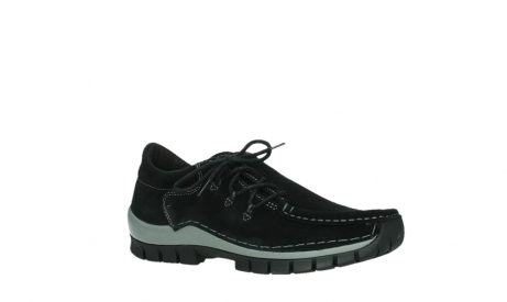 wolky lace up shoes 04737 side winter 40000 black oiled suede_3
