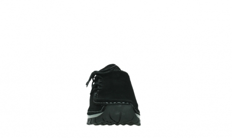 wolky lace up shoes 04737 side winter 40000 black oiled suede_7