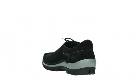 wolky lace up shoes 04737 side winter 40000 black oiled suede_17