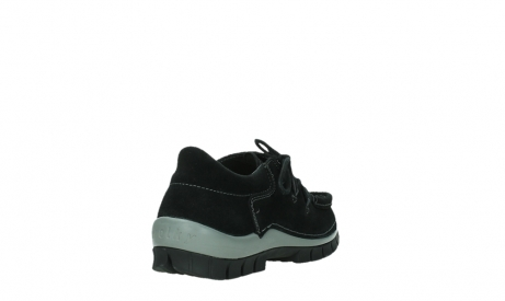wolky lace up shoes 04737 side winter 40000 black oiled suede_21