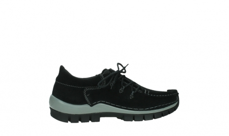 wolky lace up shoes 04737 side winter 40000 black oiled suede_24
