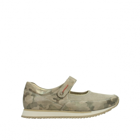 wolky mary janes 05805 e step 30939 camouflage stretch nubuck