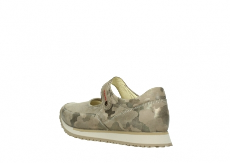 wolky mary janes 05805 e step 30939 camouflage stretch nubuck_4